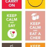 Sorteio 2 anos @avoqueria! O meu Keep Calm favorito é…