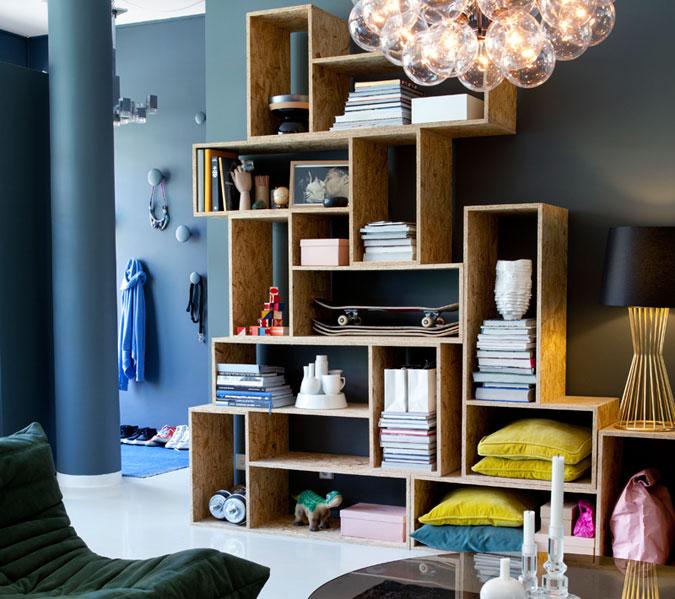 Uma paix o estante de nichos a casa que a minha v queria for Fabriquer meuble mdf