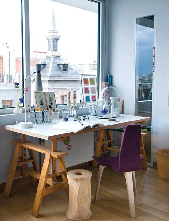 mad desk Home office perfeito para trabalhar em casa.