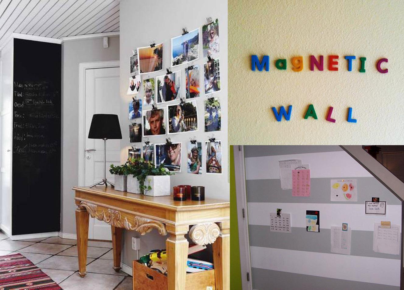 Como fazer tinta magnética em casa A Casa que a minha Vó queriaA  #A0692B 1327x951