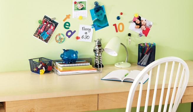 parede magn%C3%A9tica4 Home office perfeito para trabalhar em casa.
