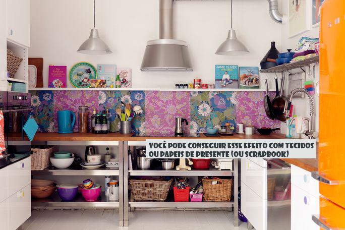 decoracao de cozinha e quarto juntos : decoracao de cozinha e quarto juntos:Bohemian Kitchen
