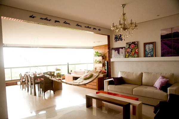 vista sala de estar