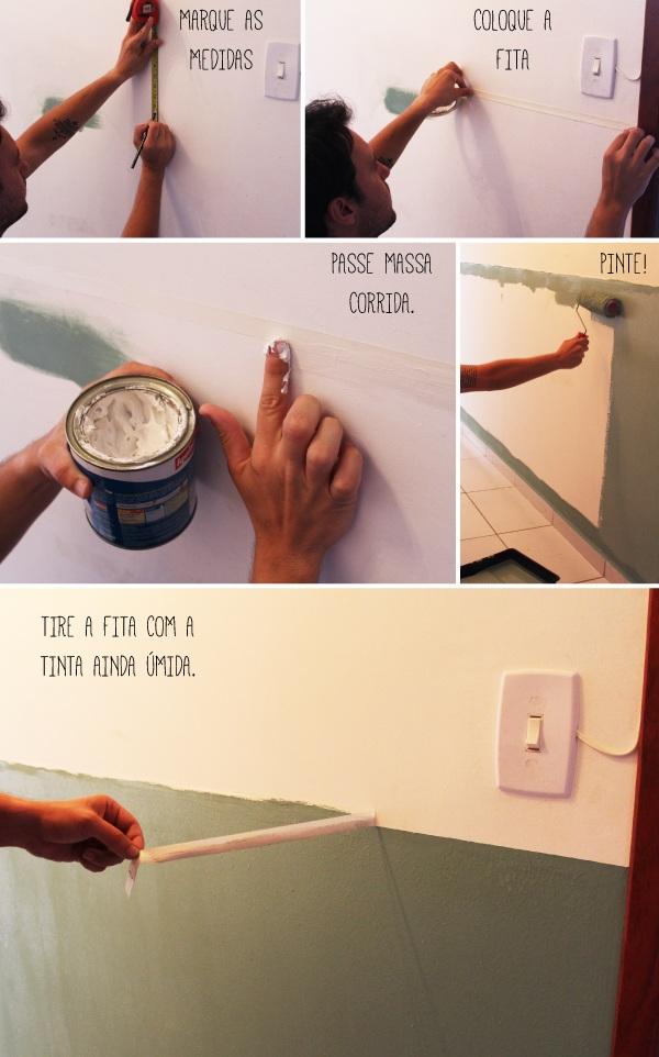 O nosso corredor pronto e algumas boas dicas a casa que for Idea de pintura de corredor