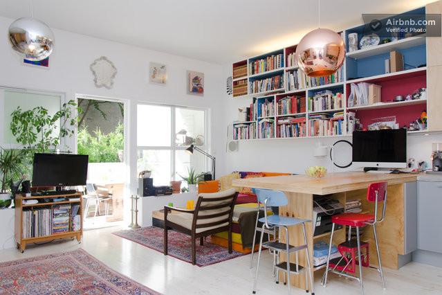 decoracao mini kitnet:cozinha planejada para apartamento bem pequeno