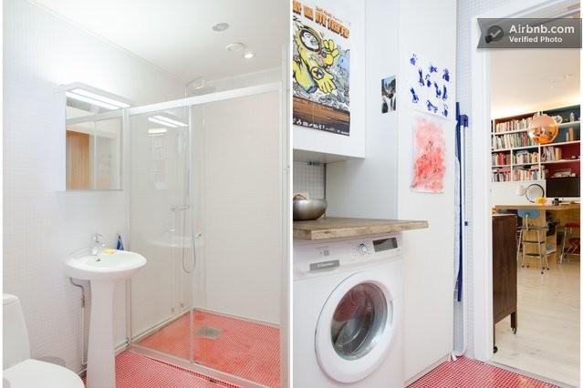 decoracao para banheiro minusculo – Doitricom -> Banheiro Pequeno Com Maquina De Lavar