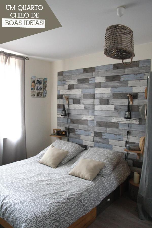 quarto de casal simples e criativo a casa que a minha v queria. Black Bedroom Furniture Sets. Home Design Ideas