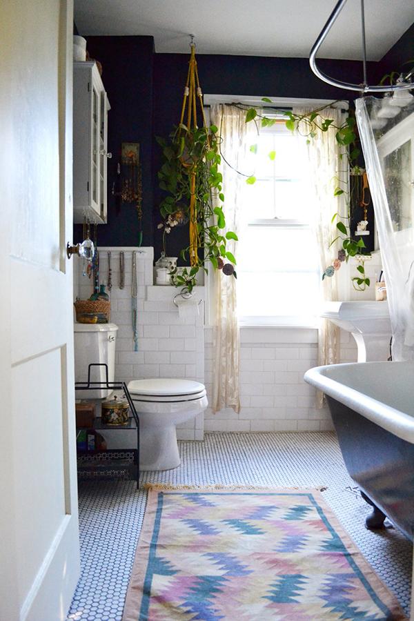 banheiro e plantas1