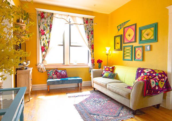 decoracao de cozinha hippie : decoracao de cozinha hippie:Um ap no estilo boho – A Casa que a minha Vó queriaA Casa que a minha