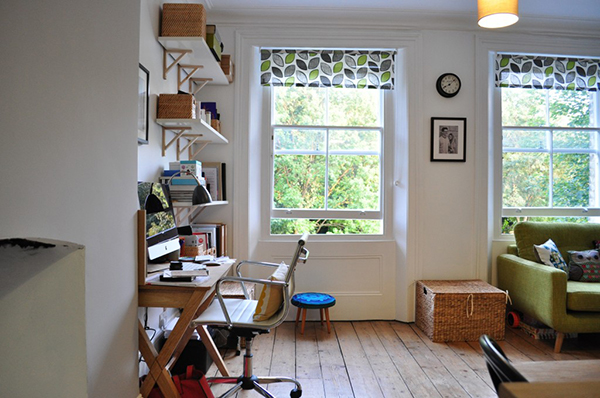 home office em um cantinho da sala4