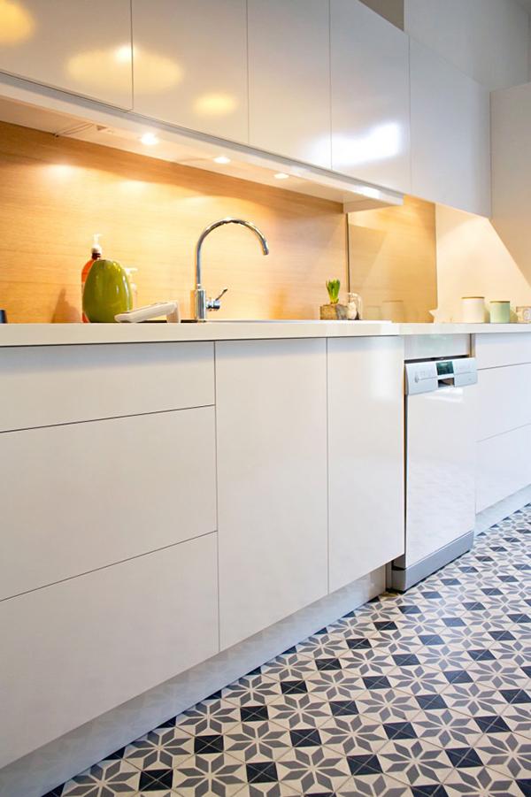 Uma cozinha clean e mega charmosa - A Casa que a minha V? queriaA ...