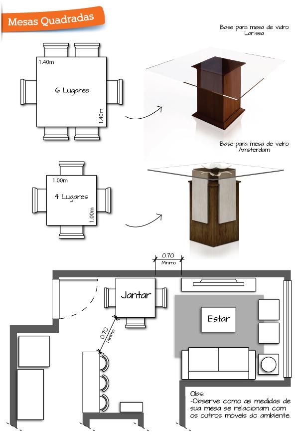 Extremamente Qual o formato de mesa de jantar ideal para a sua casa? - A casa  KL55