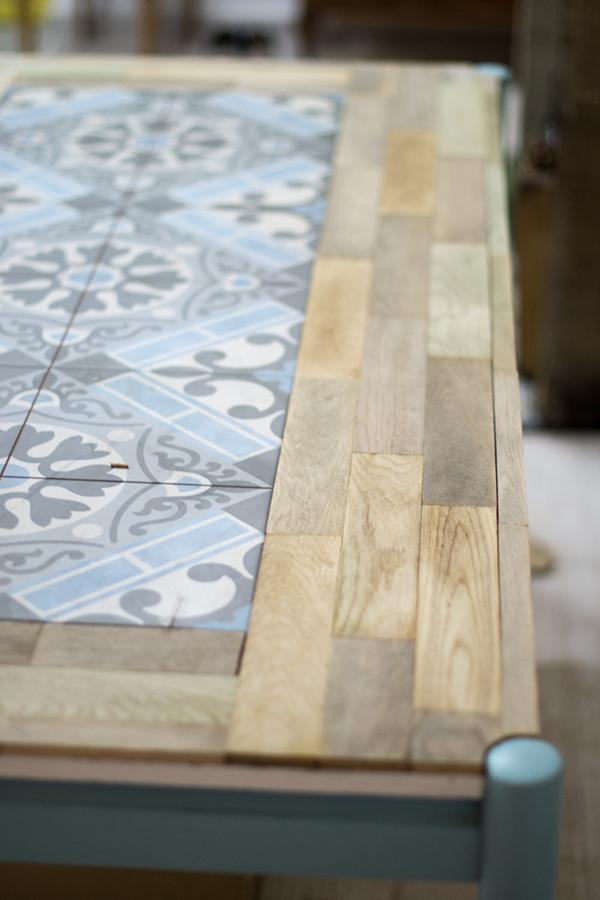 Ideia para reformar uma mesa velha a casa que a minha v queria - Como reformar una casa ...