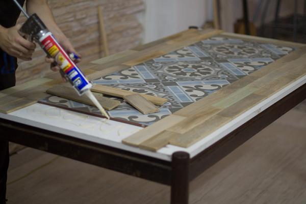 Ideia para reformar uma mesa velha a casa que a minha v for Como reformar una casa de pueblo