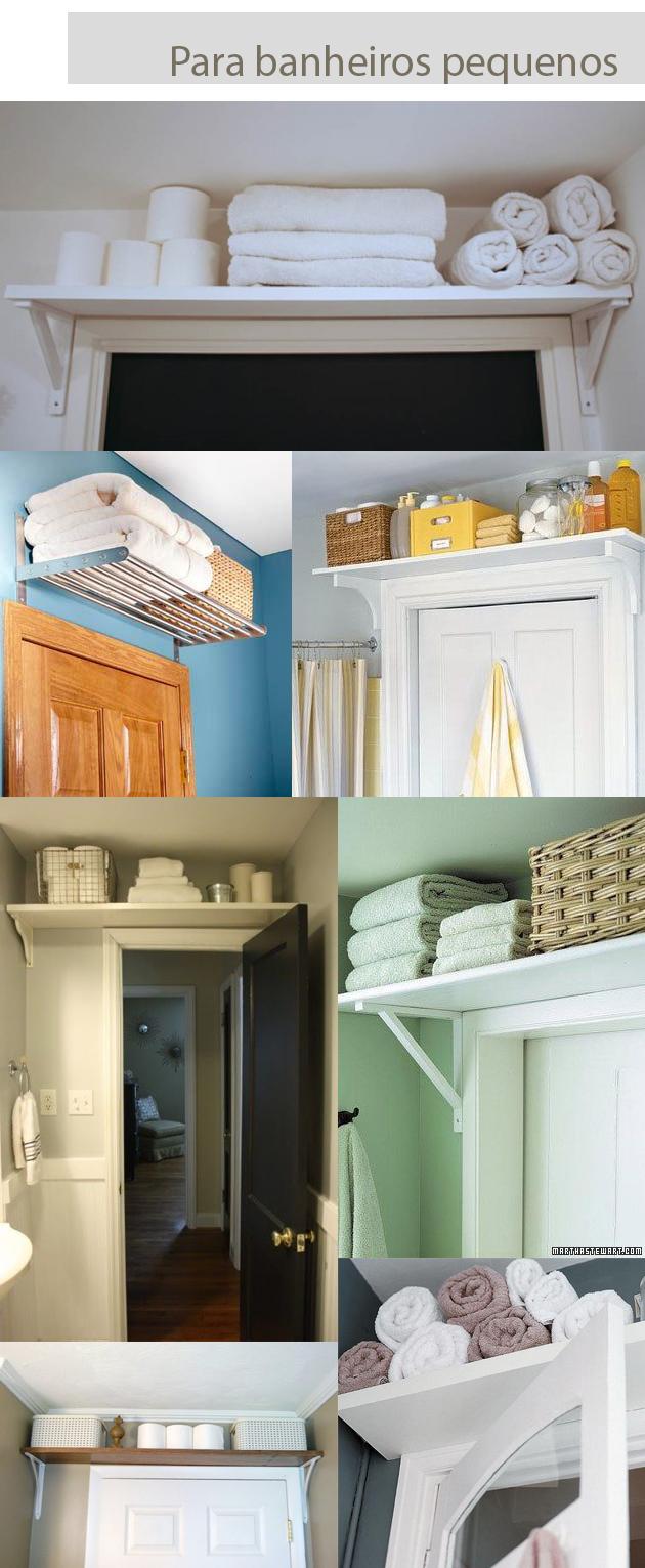 Coisa Minha, Casa Banheiro pequeno e sem armário? Eis a solução! -> Armario De Banheiro Para Apartamento Pequeno