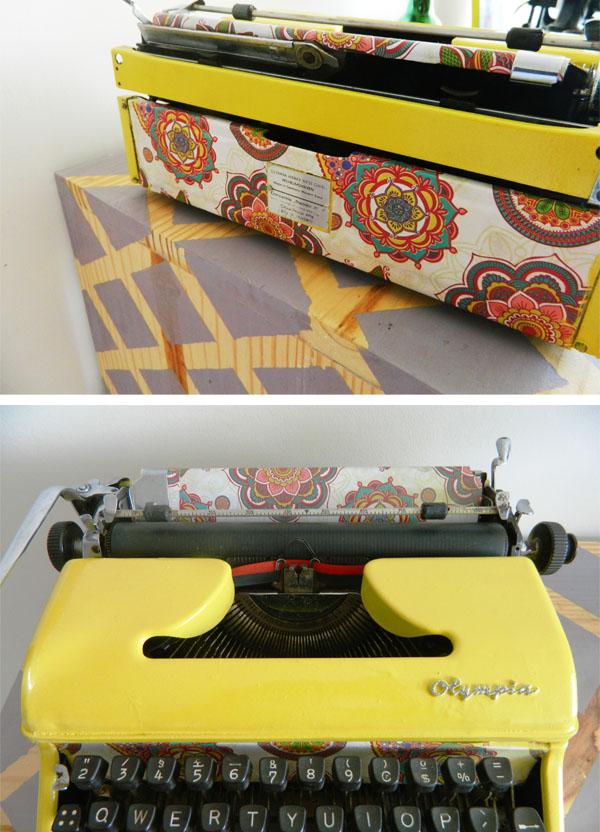 como reformar uma maquina de escrever - a casa que a minha vo queria6