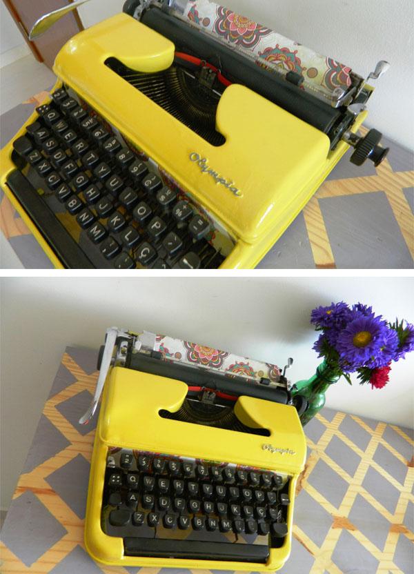 como reformar uma maquina de escrever - a casa que a minha vo queria7