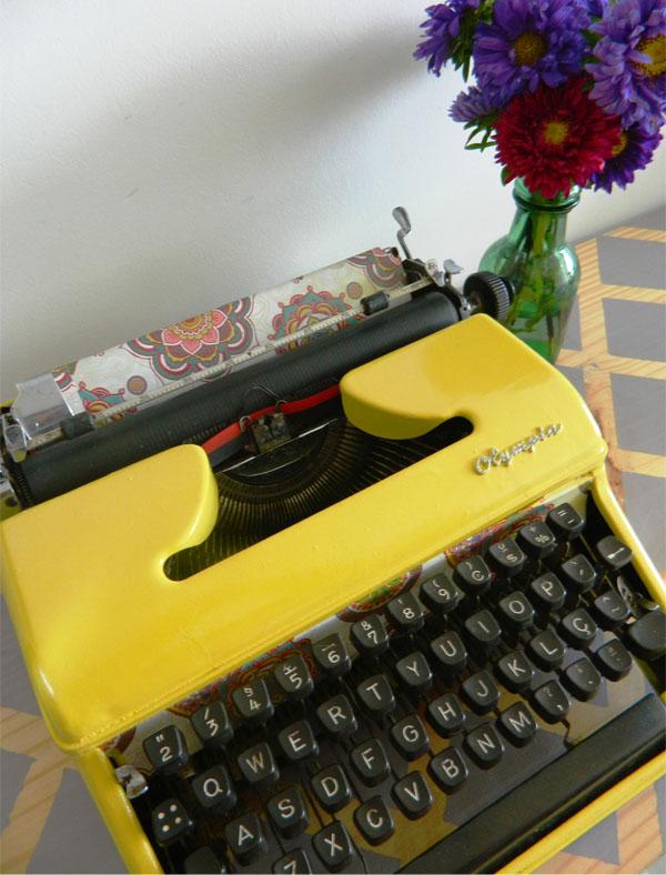 como reformar uma maquina de escrever - a casa que a minha vo queria8