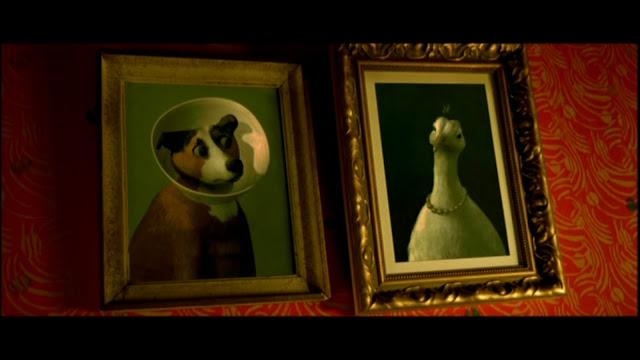 amelie poulain animal artwork
