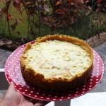 torta salgada com massa saudável
