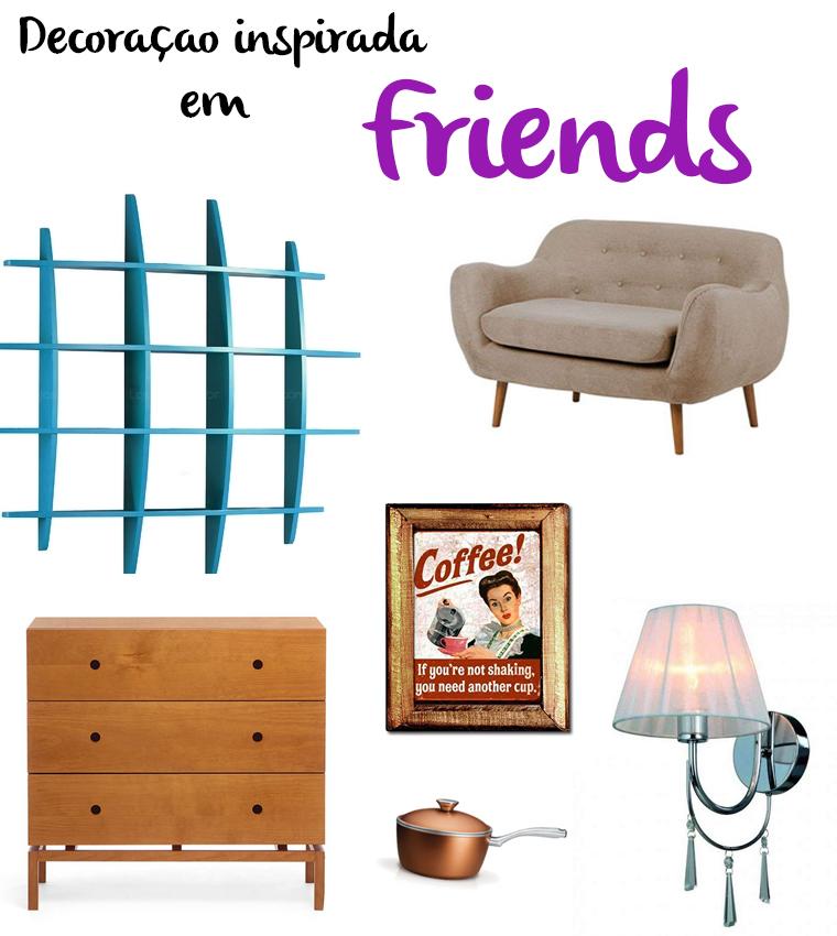 decoração friends