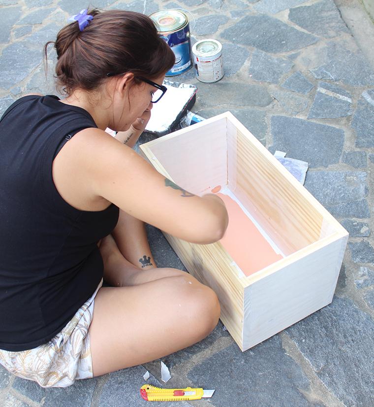 como pintar um móvel de madeira5