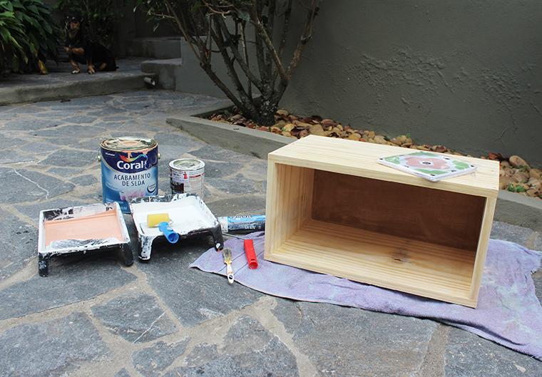 como pintar um móvel de madeira1