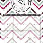 calendario outubro 2015 - a casa que a minha vo queria