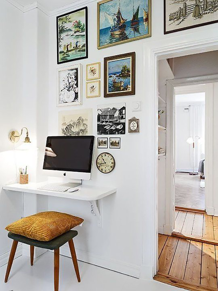 Qualquer cantinho cabe um home office for Un poco chambre separee