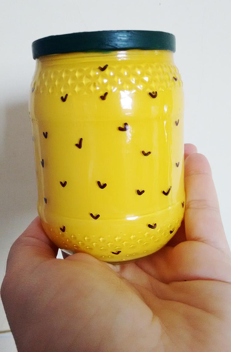 vaso abacaxi diy a casa que a minha vo queria (7)