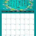 calendário Dezembro 2015