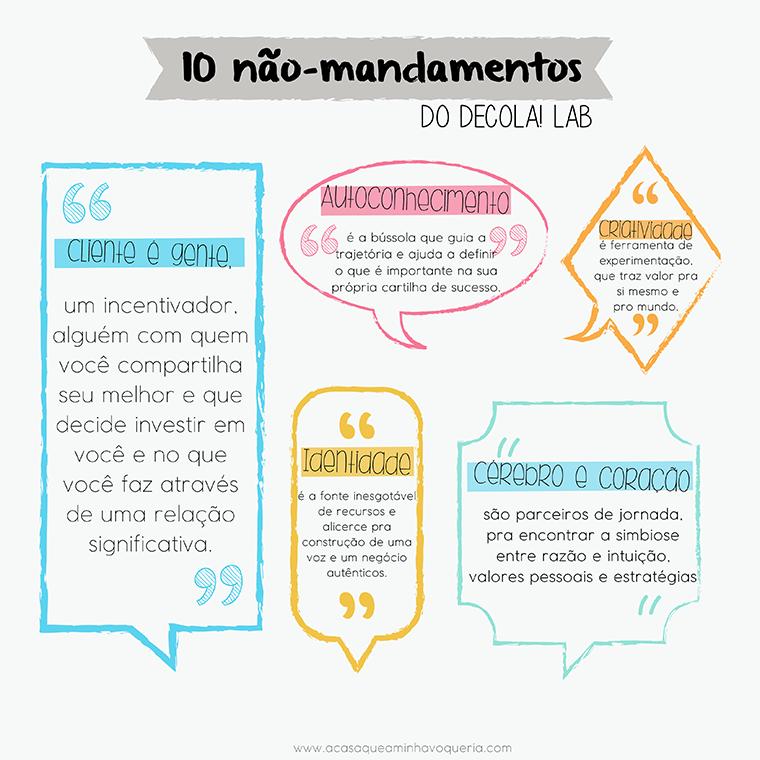 os 10 não mandamentos blog