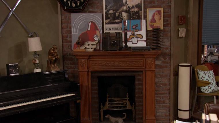 Decoração da série How I Met Your Mother - O Apartamento de Ted Mosby (10)