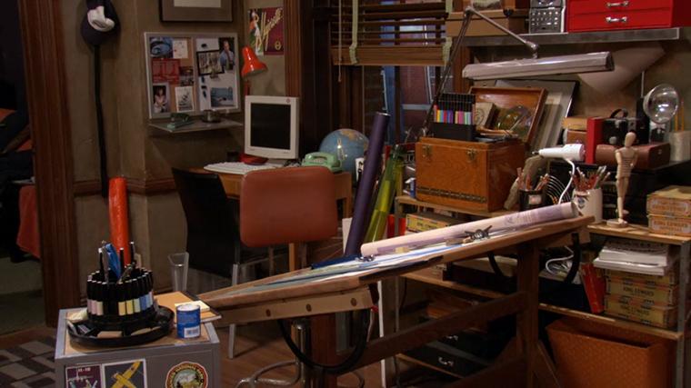 Decoração da série How I Met Your Mother - O Apartamento de Ted Mosby (11)