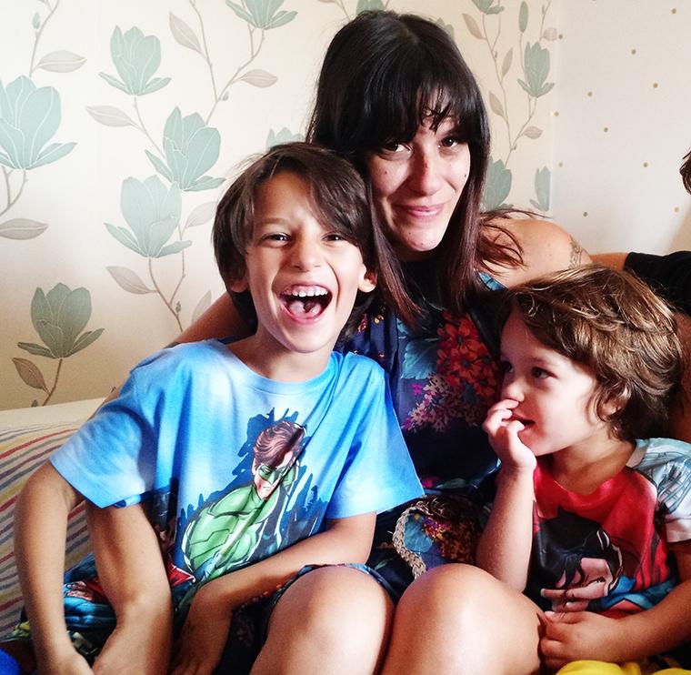 ana e os meninos