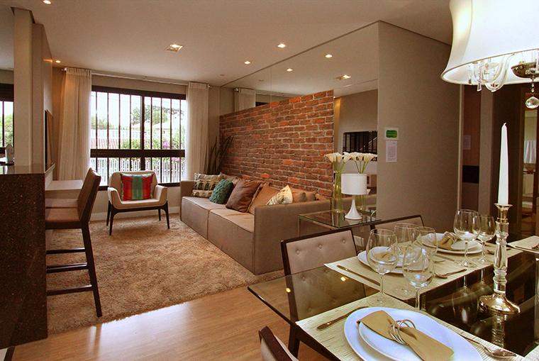 Ap decorado de 71m em curitiba a casa que a minha v queria - Fotos de lofts decorados ...
