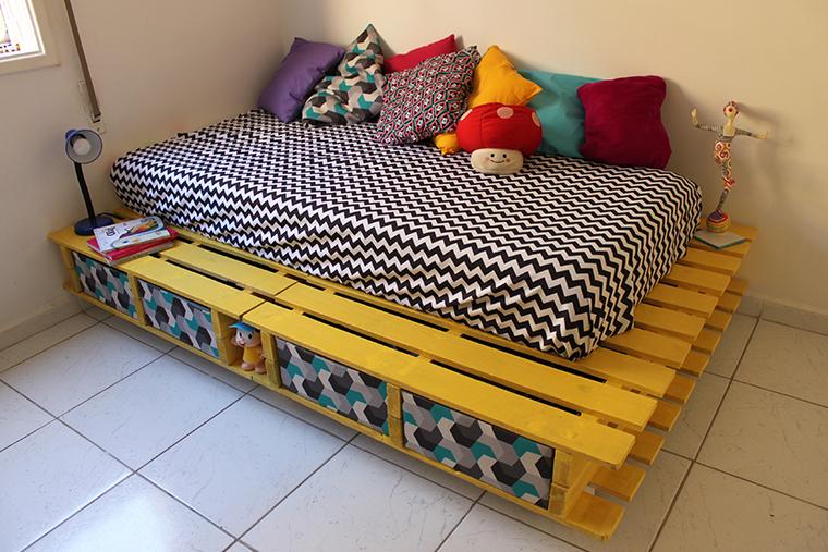 como fazer uma cama de paletes8