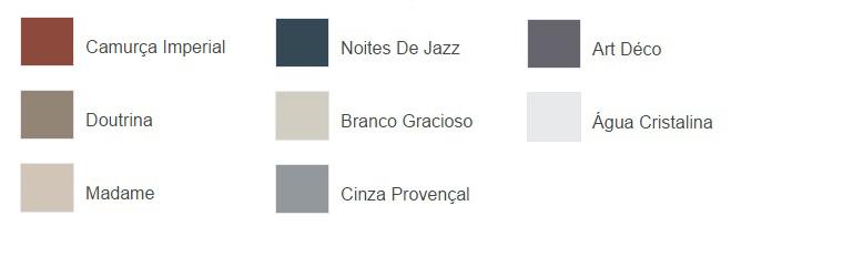 paleta cores clássicas Coral