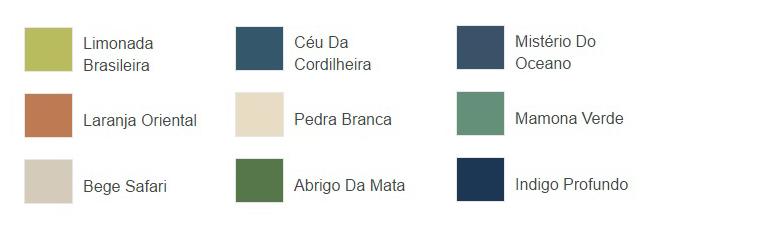 paleta cores etnicas Coral