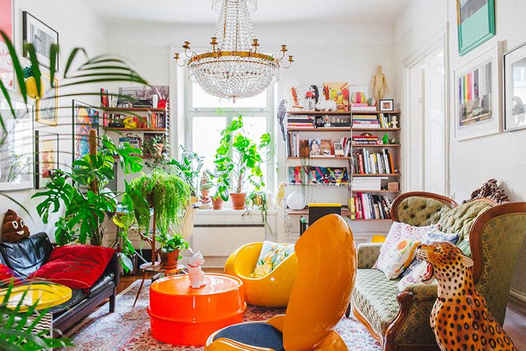 apartamento com decoração kitsch5