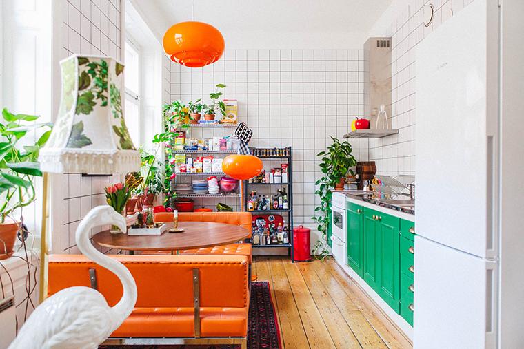 apartamento com decoração kitsh1