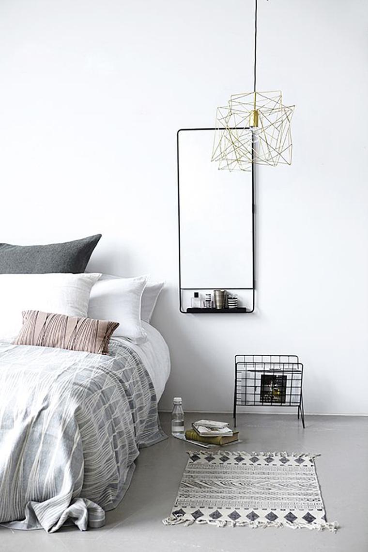 quarto minimalista - acasaqueaminhavoqueria.com