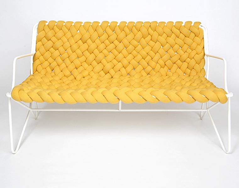 móvel de quinta - sofá de macramê 4