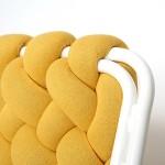 móvel de quinta- sofá de macramê
