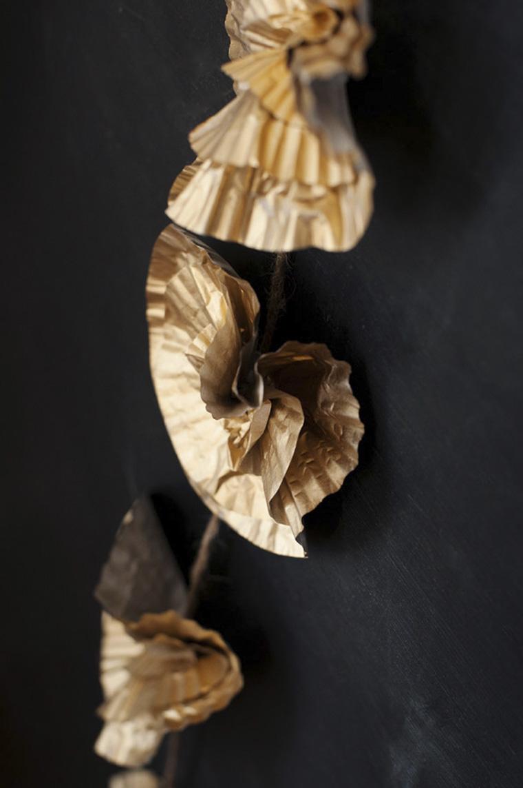 Diy Garland Floral Dourado11