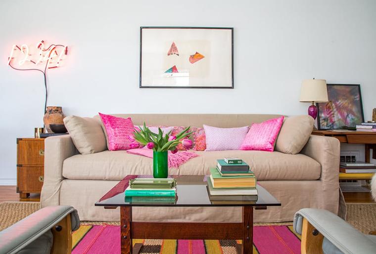 apartamento com tons de rosa6
