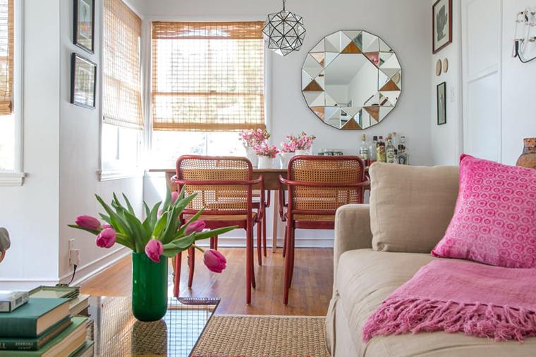 apartamento com tons de rosa7