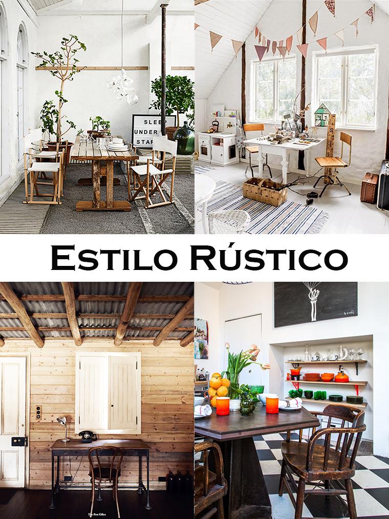 estilo rustico