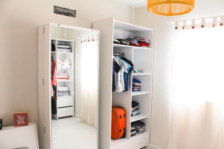 tour pelo quarto de hospedes e closet