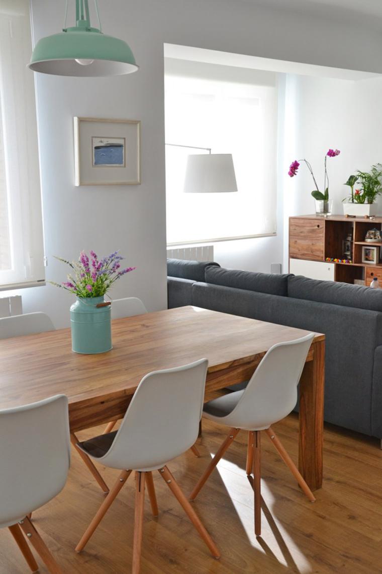 Sala de estar e jantar integradas a minha nova obsess o for Sala de estar the sims 4